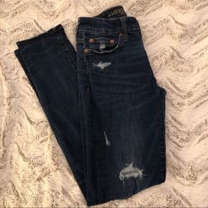 American Eagle Distressed Womens Jeans Size 28x32